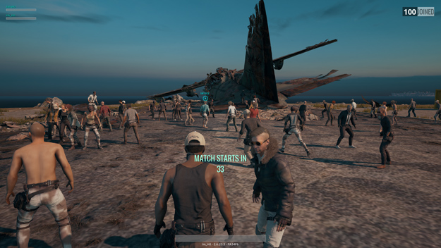 Battlegrounds lobby