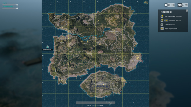 Battlegrounds map