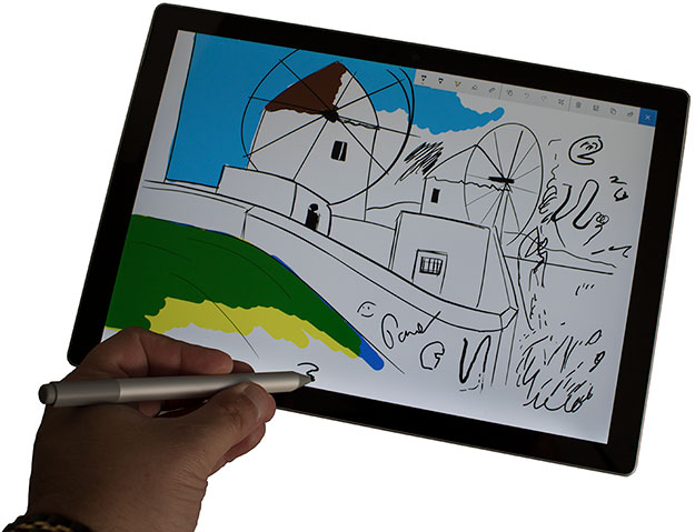 Microsoft Surface Pro Sketch