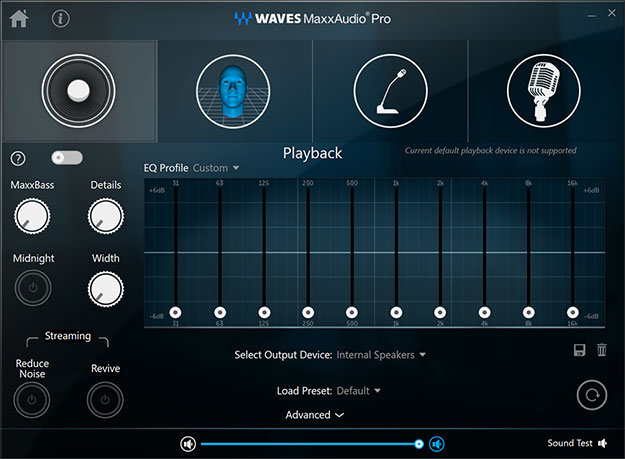 Dell XPS Tower Special Edition Waves MaxxAudio