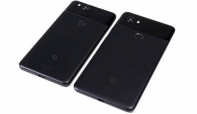 Google Pixel 2 Phones Back Bottom