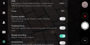Advanced Camera Settings LG V30