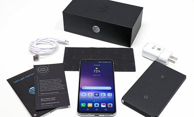 Kit And Box LG V30