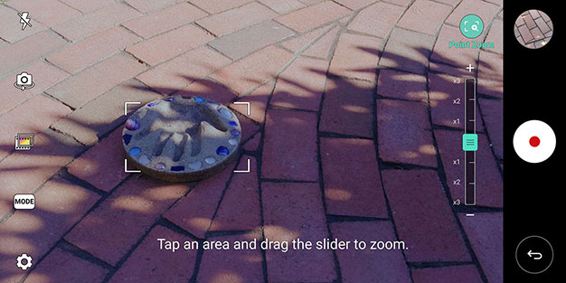 Point Zoom LG V30