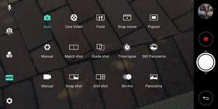 Shot Modes LG V30