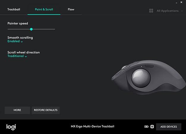 Logitech MX Ergo Wireless Trackball Review: Untethered