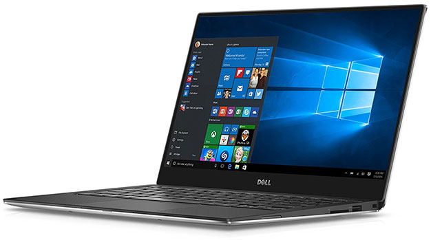 Dell XPS 13 Stock Side Shot
