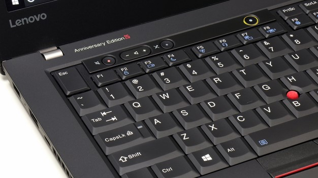 Lenovo ThinkPad 25 Left Top Corner