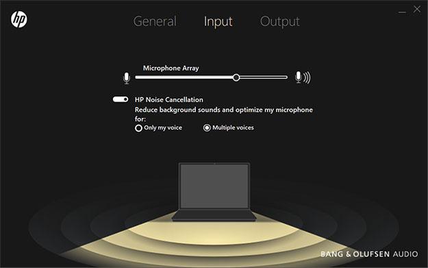 HP Spectre x360 Audio