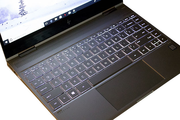 HP Spectre x360 Keyboard LED