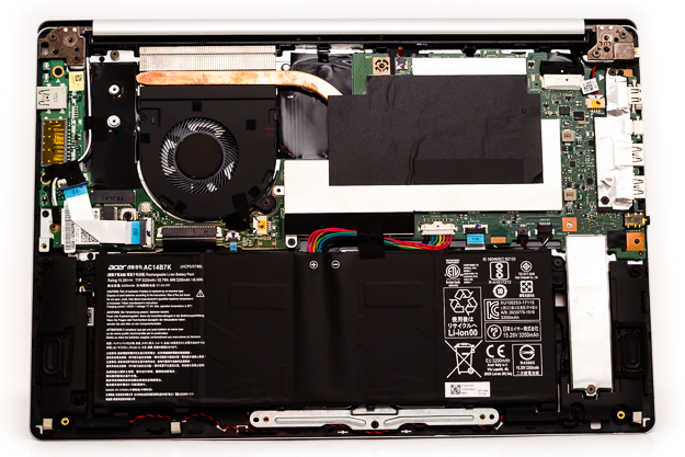 acer swift 3 8gen interior