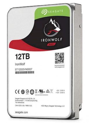seagate iron wolf 12tb