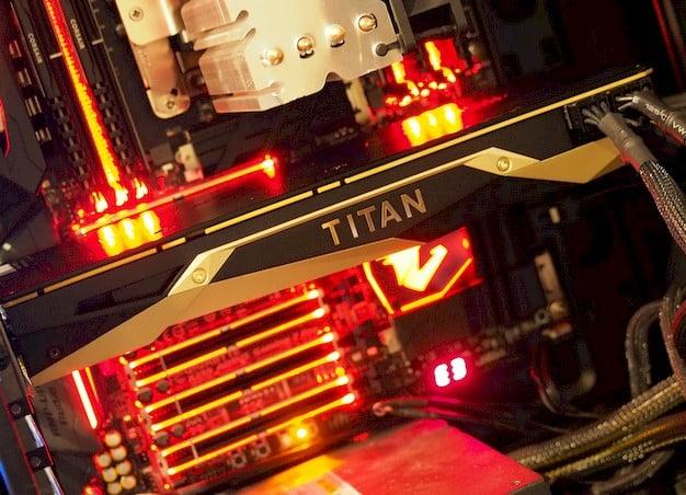 titan v test system