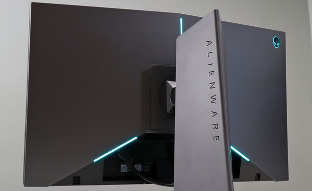 Alienware 25 Monitor back