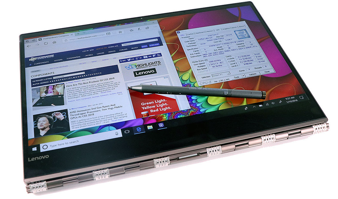 Lenovo Yoga 920 Review: An Elegant, Powerful 2-In-1 Ultrabook