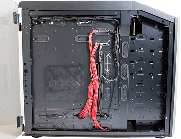 Origin PC Millennium Backside