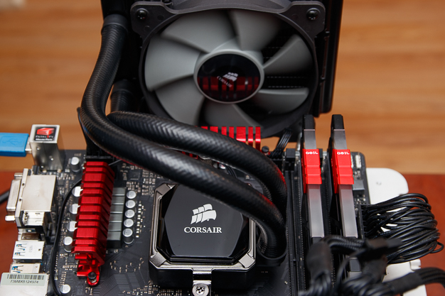 Corsair Hydro Roundup H60 Full View