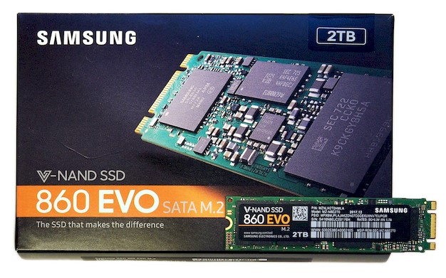 Samsung Ssd 860 Evo M 2 Sata Review Fast Affordable Solid State