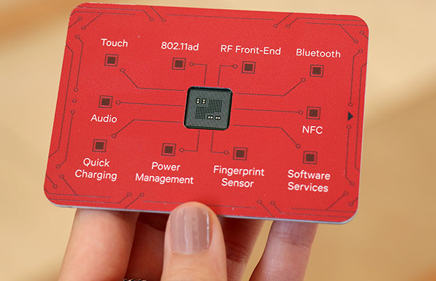 Qualcomm Snapdragon 845 Chip card