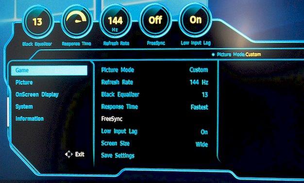 samsung chg70 menu 1