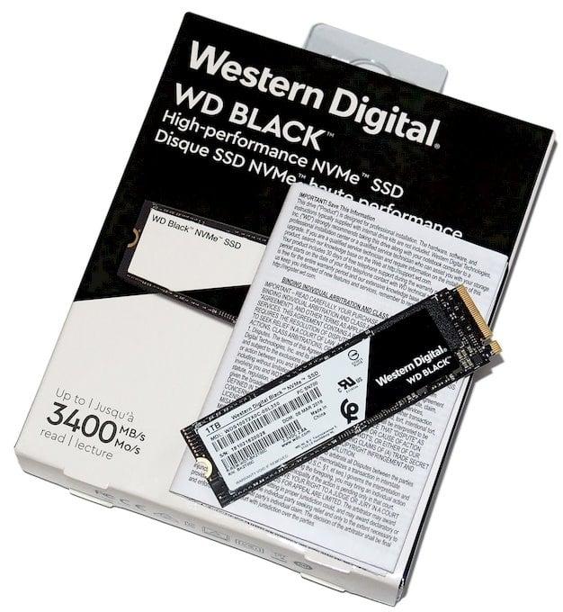 wd black nvme 2