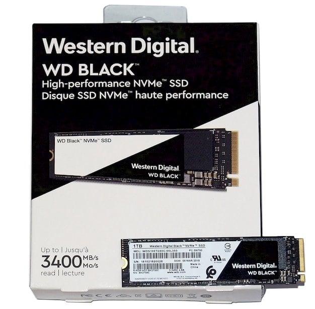 wd black nvme 3