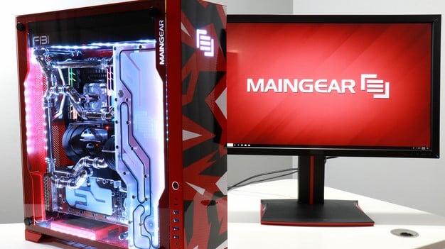 Maingear F131 With Monitor