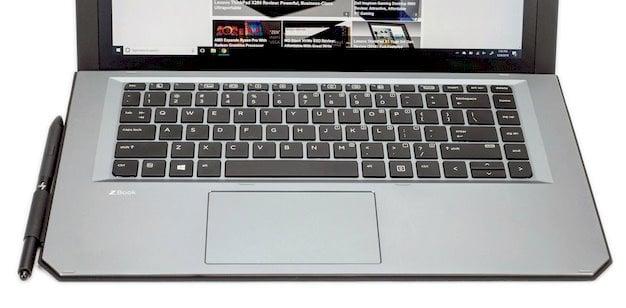 HP Zbook X2 G4 keyboard