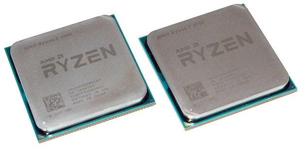 ryzen 2600 and 2700 1