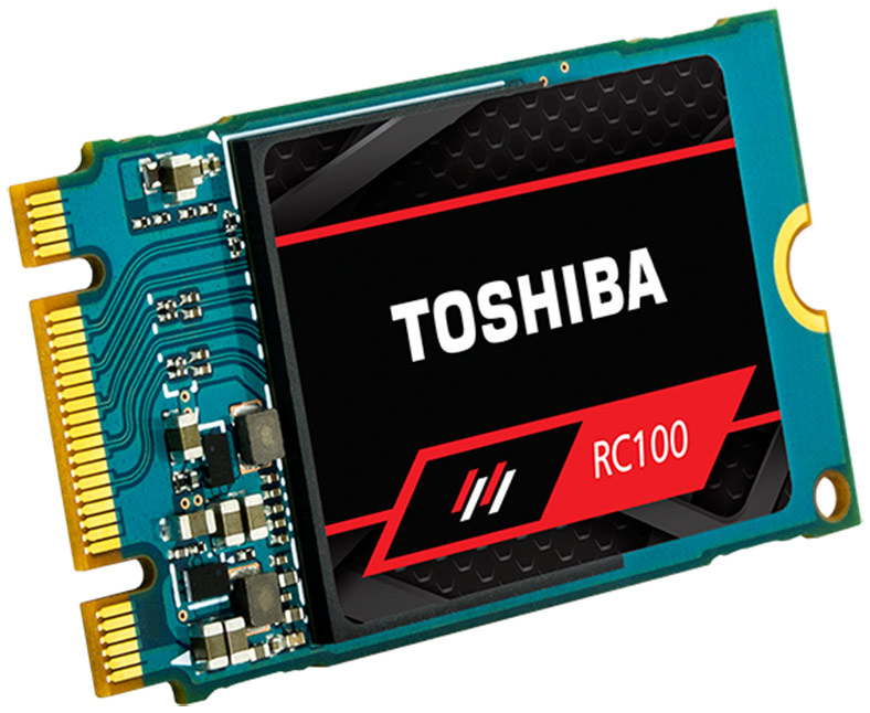 Toshiba OCZ RC100 SSD Review: Tiny, Affordable NVMe Storage
