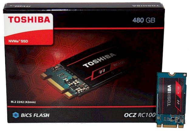 Toshiba OCZ RC100 SSD Review: Tiny, Affordable NVMe Storage