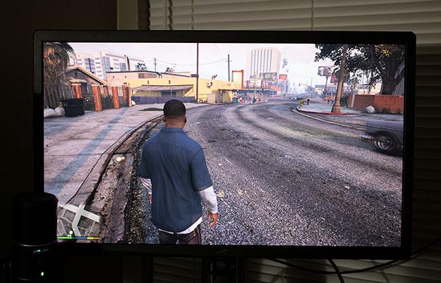ASUS ROG Swift PG27UQ Grand Theft Auto V