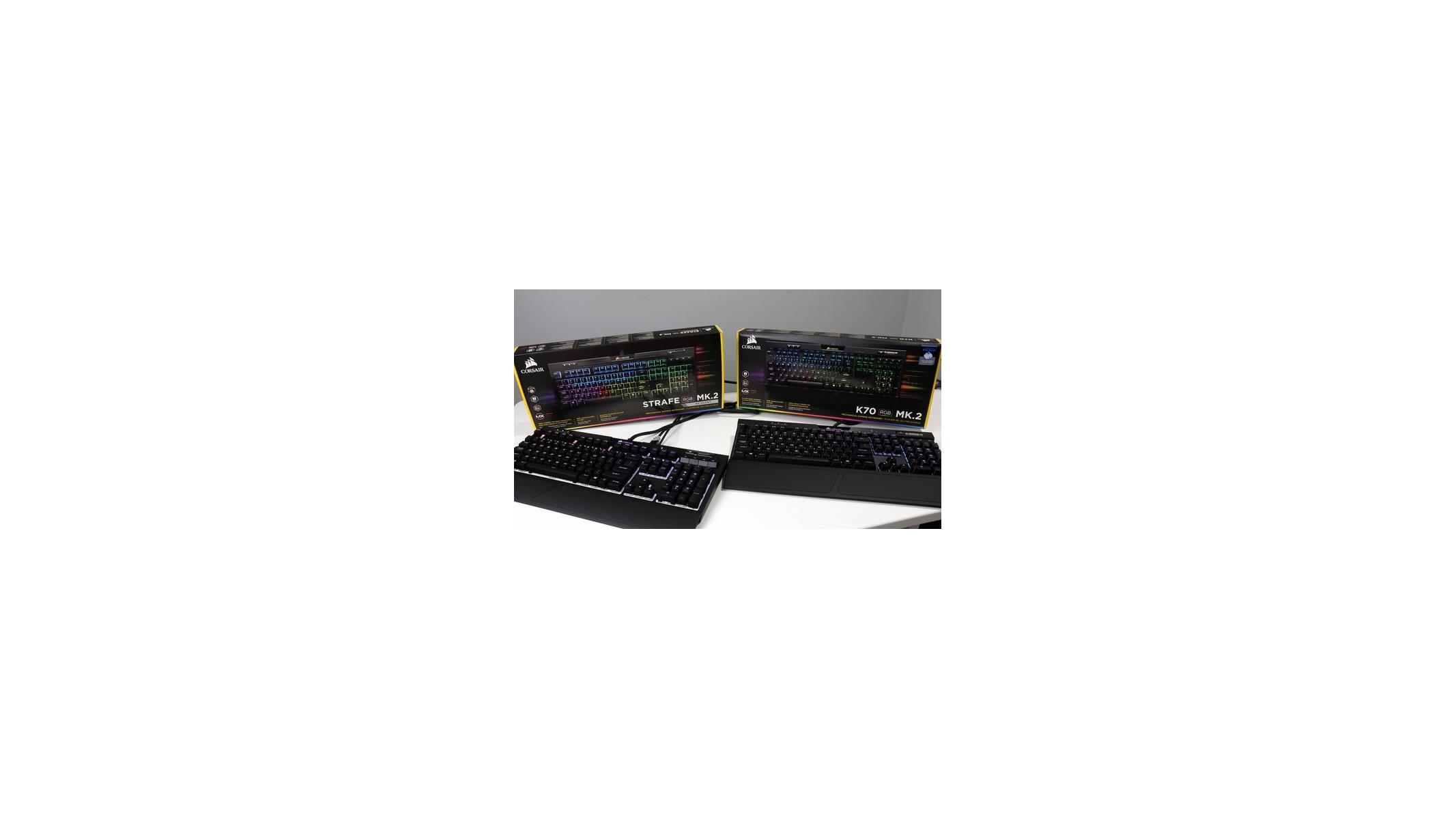 Corsair K70 RGB MK 2 And Strafe RGB MK 2 Gaming Keyboard Review