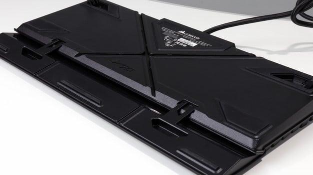 Corsair K70 RGB MK2 bottom