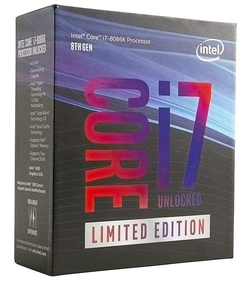 Core i7-8086K 40th Anniversary CPU Review: Intel X86 Hits 5GHz