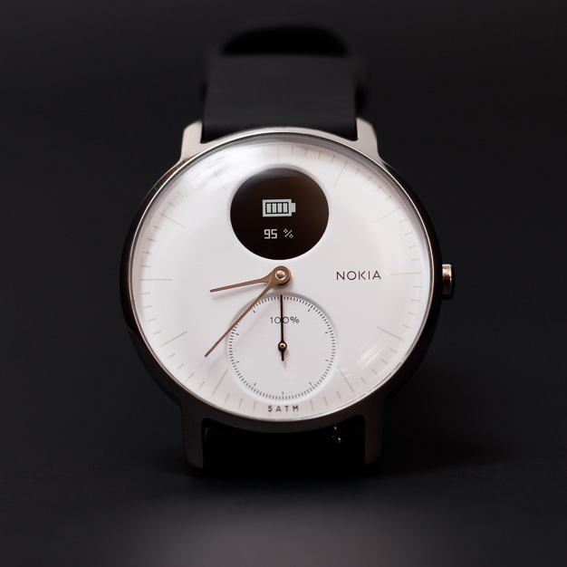 nokia steel hr watchface battery