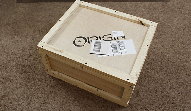 Origin PC Shipping Crate