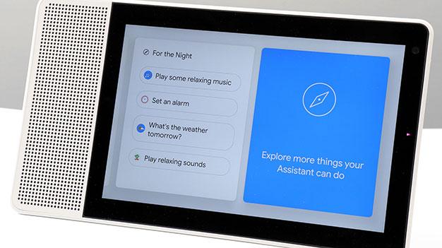 Google Assistant Lenovo Smart Display