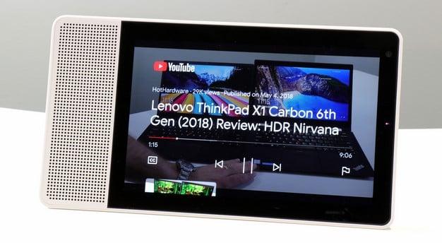 YouTube Lenovo Smart Display