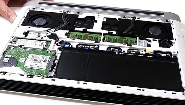 Dell G7 15 Gaming Internal
