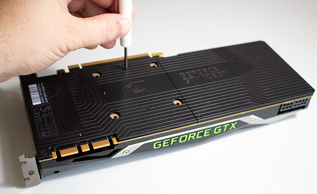 GeForce GTX 1080 Ti Backplate Assembly