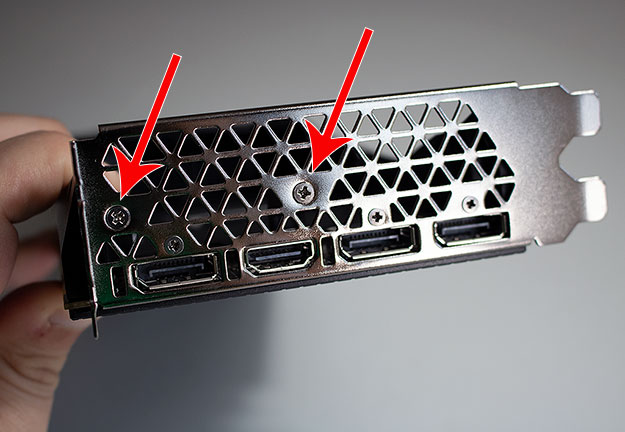GeForce GTX 1080 Ti Expansion Plate