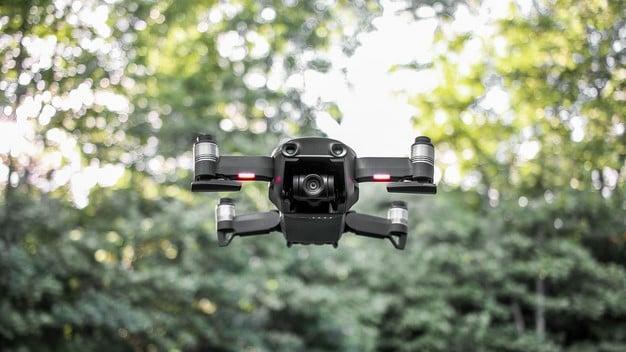bottom up Mavic Air drone
