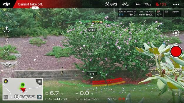 remote controller view mavic air drone