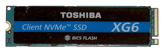 Toshiba XG6 NVMe SSD Review: BiCS Flash Puts Up 3GB/Sec