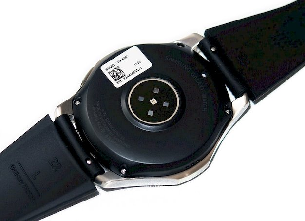 samsung galaxy watch back