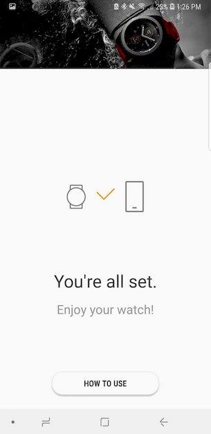 samsung watch setup 3