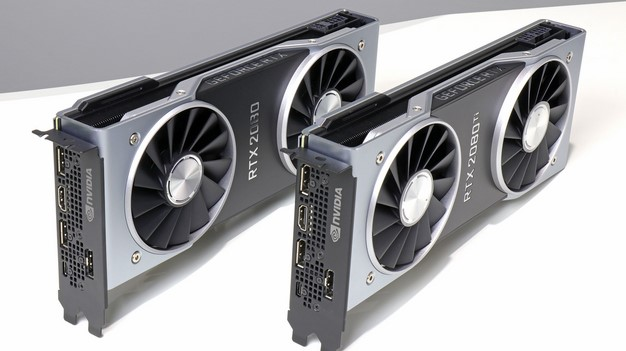 GeForce RTX 2080 Ti GeForce RTX 2080 io ports