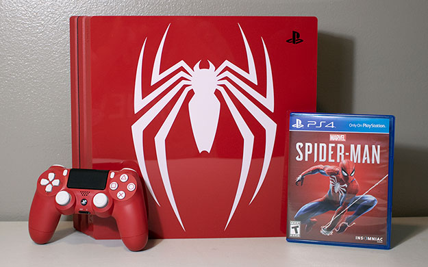 Sony PlayStation 4 Pro 1TB Marvel Spider-Man