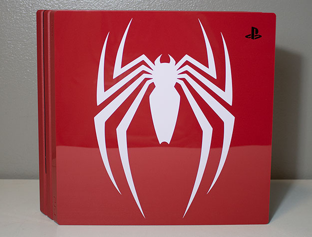 Sony PlayStation 4 Pro 1TB Marvel Spider-Man Main